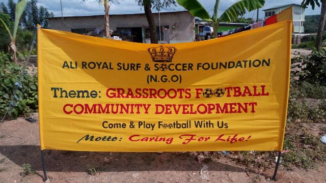 Ali Surf and Soccer Foundation (AS&SF)