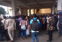 section of the voters at the NDC headquarters