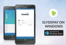 Slydepay New Windows App