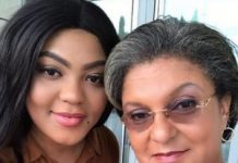 Hannah Tetteh and Duaghter