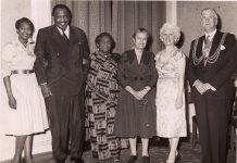 Amy Ashwood Garvey, Claudia Jones and Paul Robeson in England