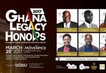 Ghana Legacy Honors