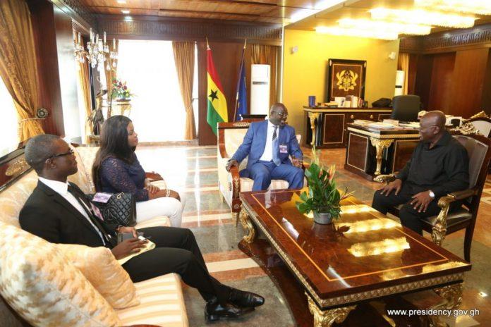 Nana Addo and George Weah