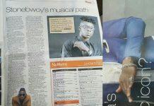 Stonebwoy featured in Sunday Tribune