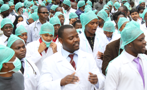 Kenyan doctors Photo: The Star/ Monicah Mwangi
