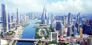 Construction of urban sub-centers is an important project for the coordinated development of Beijing, Tianjin and Hebei. Pictured is the scheme for the urban sub-center in Tongzhou District, Beijing.