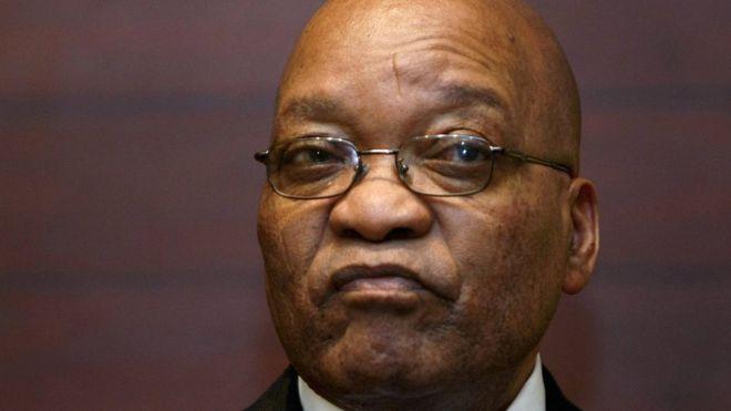 ZumaFormer South African president Jacob Zuma