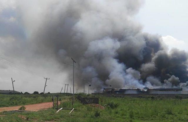 Fire guts Kingdom Books warehouse in Prampram
