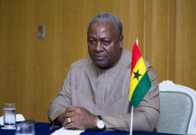 John Mahama office
