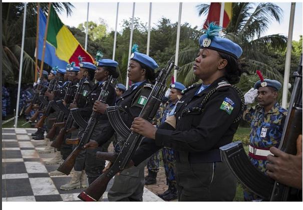 Nigerian police women