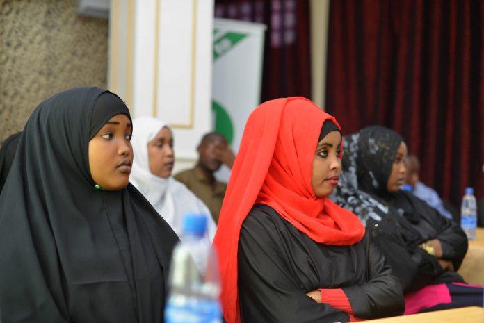 somalia election girls AU training