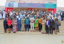 Bureau Trade President Akufo-Addo with participants at the inauguration of ECTIB