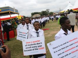 Free SHS with fanfare