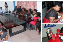 JEHU APPIA FAMILY CALL ON GNA MANAGEMENT