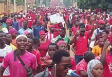 Togo opposition on the march for removal of neo-colonial regime in Lome