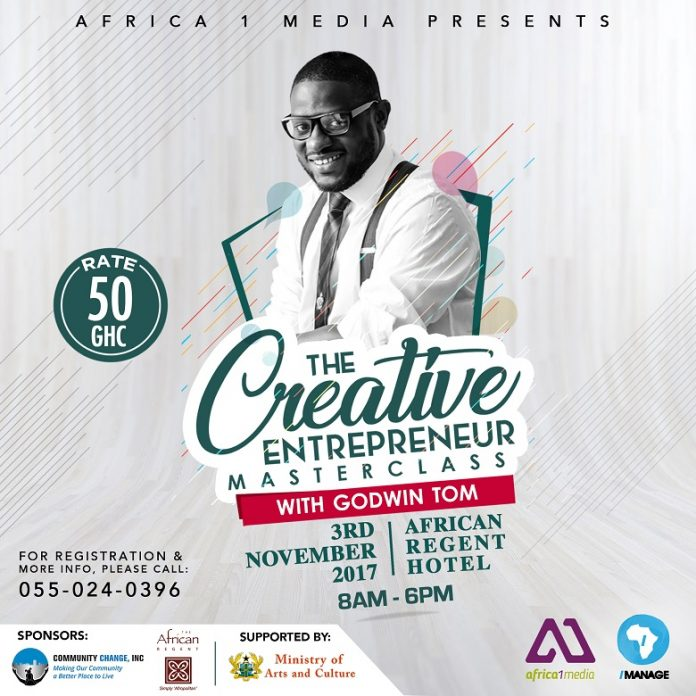 TheCreativeEntrepreneurMasterclass