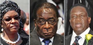 Zimbabwe ZANU-PF figures involved in factional disputes includes Grace Mugabe, Emmerson Mnangagwa and President Mugabe