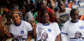 Ivorian supporters of Laurent Gbagbo and the FPI