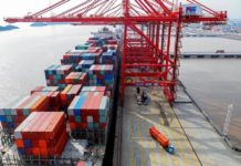 The annual volume of cargo handled at Ningbo-Zhoushan Port in east China's Zhejiang province surpassed 1 billion tons on Dec. 27, 2017. The port became the first one in the world to exceed that volume. For nine years in a row it has topped the list of global ports with the largest cargo handling capacity. (Photo from People's Daily Online)
