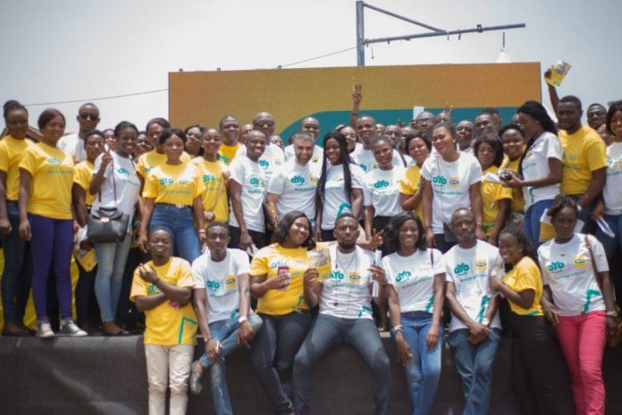 A cross section staff of aYo Ghana