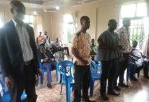District Agric census team