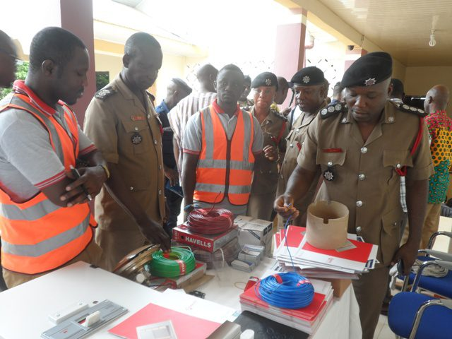 Participants at Sunyani National Anti-Counterfeit campaign