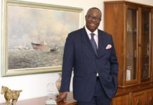 Executive Chairman of GCNet, Dr. Nortey Omaboe.