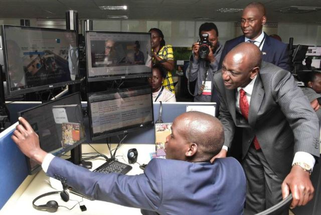 The center was formally opened by Deputy President William Ruto who pledged his support for the center and the sector at large.