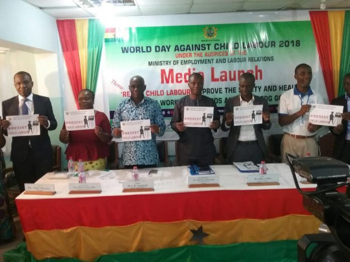2018 celebration of World Day Against Child Labour