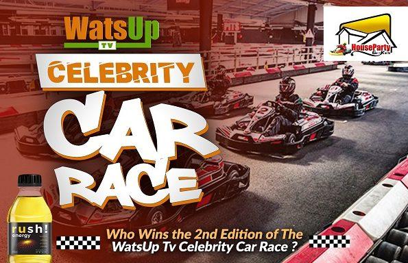 WatsUp TV Celebrity Car Race