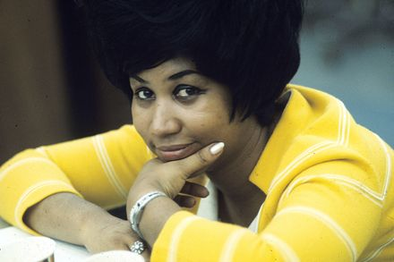 Aretha Franklin the Queen of Soul in her younger years.