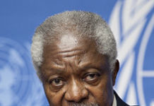 Former Secretary General of the United Nations Kofi Annan