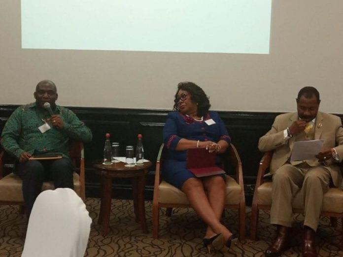 Mr Rockson Dogbegah, Madam Jemima Oware and Nana Osei-Bonsu