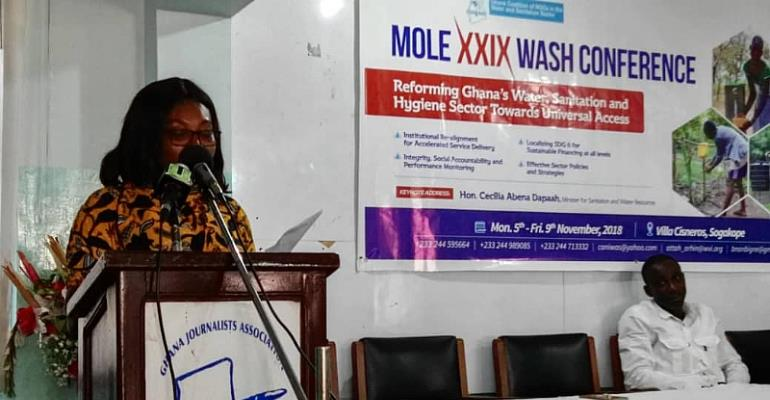 MOLE XXIX Conference:  Stakeholders to brainstorm over issues affecting  WASH sector