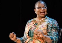 Obiageli Ezekwesili, Co-Founder, Bring Back Our Girls on 'African Jihad' at The 2016 Women In The World Summit, NYC, New York; 4/6/2016