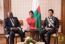 President Andry Nirina Rajoelina and President Nana Addo Dankwa Akufo-Addo
