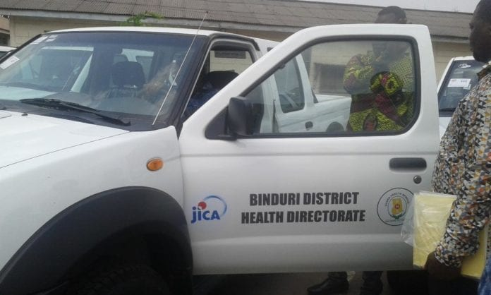 JICA supports GHS with vehicles