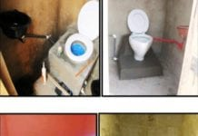 Samples of micro and macro bio gas digester toilet facilities constructed by TESS Ghana.