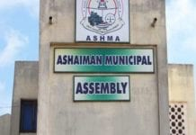 ashaiman municipal assembly