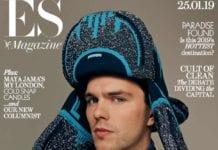 Nicholas Hoult for ES Magazine