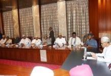 inaugural campaign council meeting