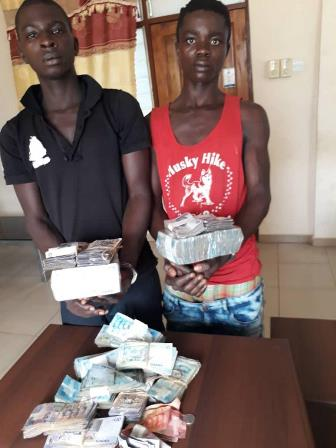 Two in custody for stealing GHC 70,000.00 cocoa cash