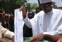 Buhari voting