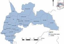 Creation of six new regions