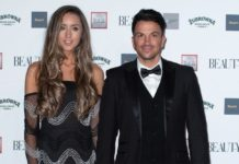 Emily Andre and Peter Andre