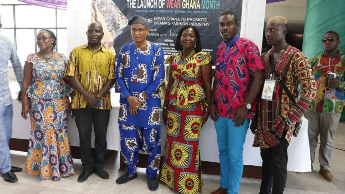 The launch of Wear Ghana Month by Hon. Dr Mustapha Hamid