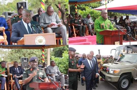 president vehicles soilders