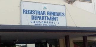 Registrar General's Department (RGD)