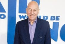 Sir Patrick Stewart at The Kid Who Would Be King premiere