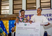 ABL rewards best Food Process Engineering student from University of Ghana